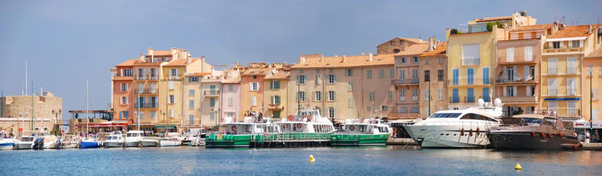 Saint-Tropez am Hafen, Panorama