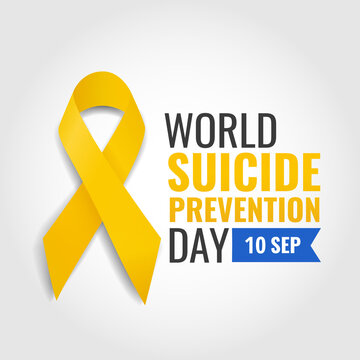 Vector Illustration of world suicide prevention day
