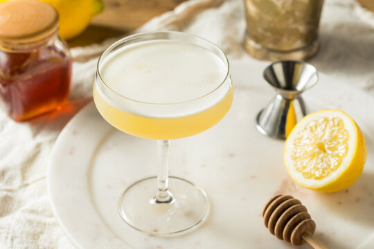 Boozy Bees Knees Gin Cocktail