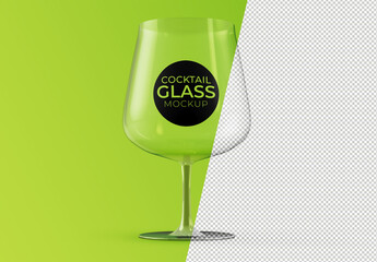 Cocktail Glass Mockup