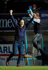 League One Play Off Semi Final Second Leg - Wycombe Wanderers v Fleetwood Town