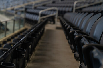 Printed roller blinds Stadion High Angle View Of Empty Seats In Statium
