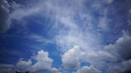 하늘 Fotobehang