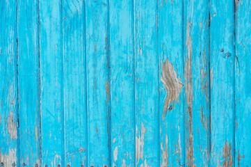 Obraz Full Frame Shot Of Old Wooden Fence - fototapety do salonu