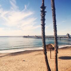 Fototapeta Scenic View Of Beach Against Sky obraz