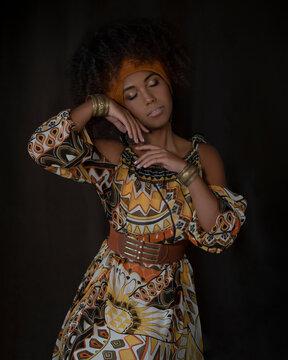 веб девушка модель багира