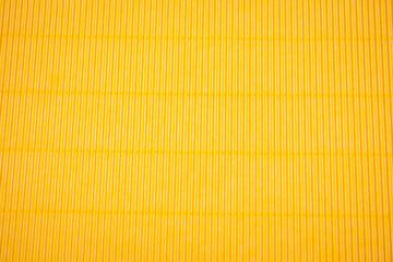 Corrugated application paper background. Yellow color