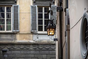 electric lantern Fotomurales