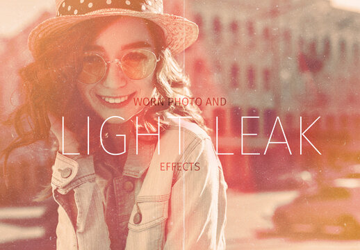Light Leak and Worn Photo  Effects