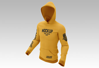 Hooded Sweatshirt Mockup