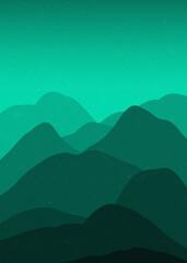 Minimal Mountains,Minimal Mountains Poster,Minimal Landscape,Minimal Mountains Print,Minimal Mountains Poster,Landscape Print
