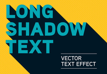 Long Shadow Text Effect