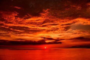 Una vista espectacular de los atardeceres de Puerto Vallarta
