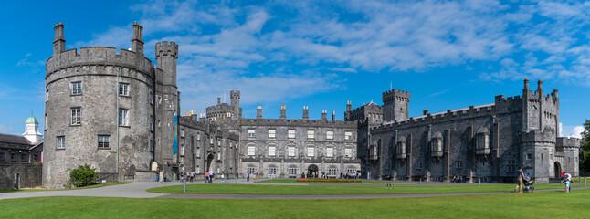 Obraz Buildings In City Against Sky - Kilkenny Castle - fototapety do salonu
