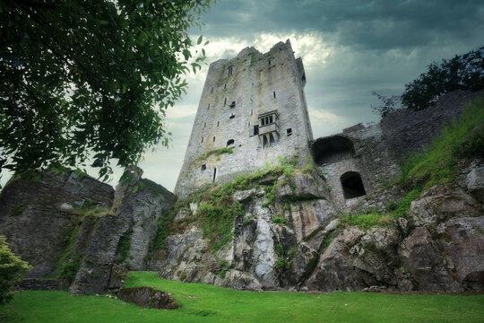 Medieval Blarney Castle in county Cork, Ireland
