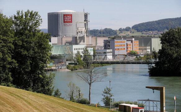 General view shows the nuclear power plant KKW Beznau of Swiss energy company Axpo near Beznau