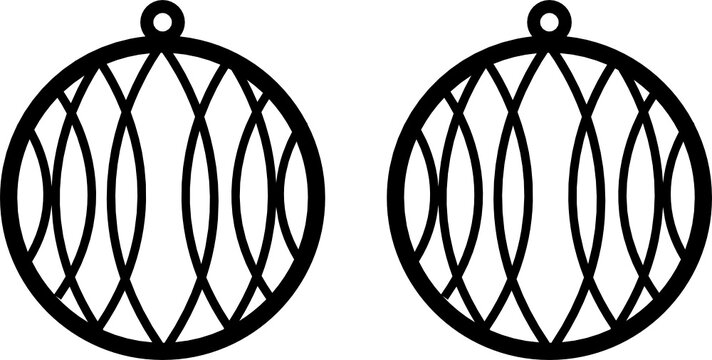 EAR RING SVG vector for cricut and silhouette