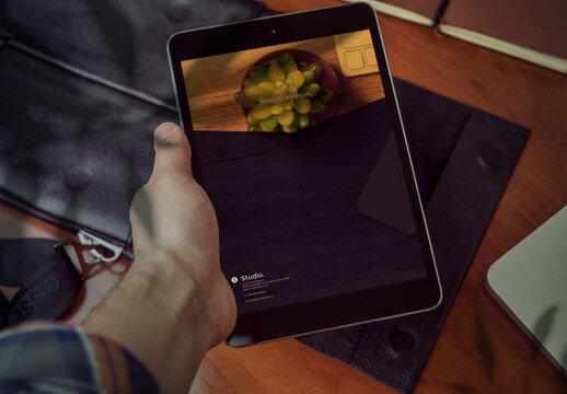 Digital Brand Manual Layout