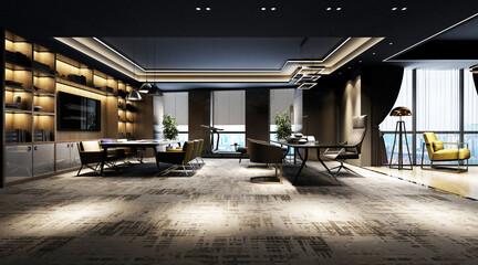 modern office interior Fototapete