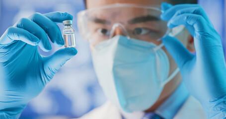 scientist look to newest vaccine