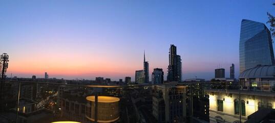 Skyline Sunset Milan