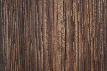 Fototapeta Zbliżenie na starą spękaną deskę. obraz