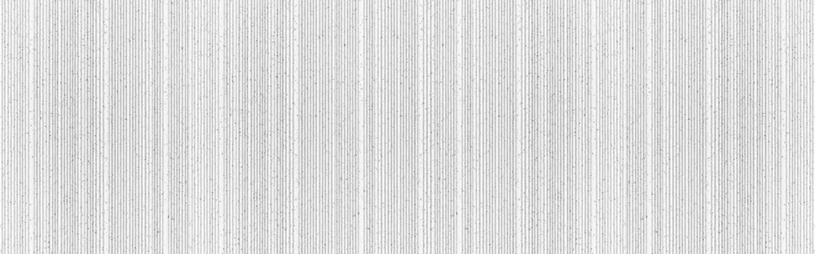 Panorama of Modern white stone wall with stripes texture and seamless background