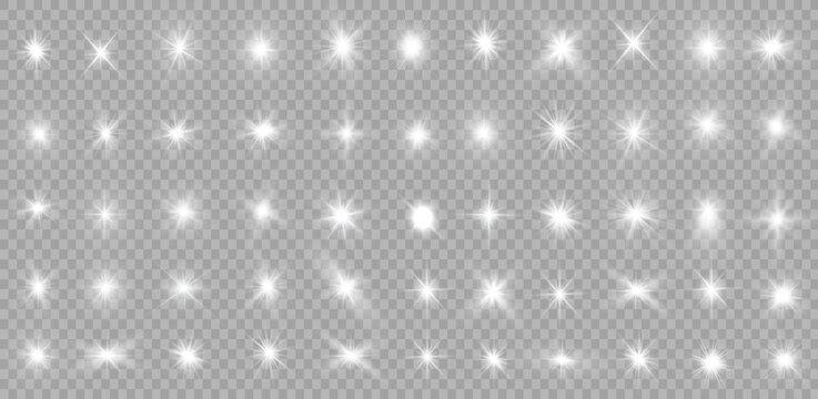 White light stars.