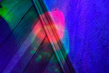 Full Frame Shot Of Multi Colored Glass