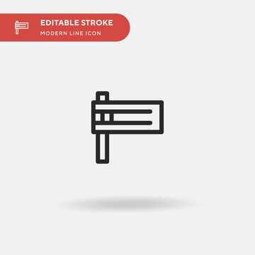 Matraca Simple vector icon. Illustration symbol design template for web mobile UI element. Perfect color modern pictogram on editable stroke. Matraca icons for your business project
