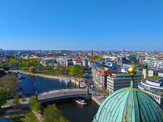 Atop the Berlin Cathedral