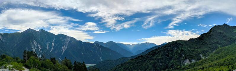 Kurobe Alpine Dam Panorama