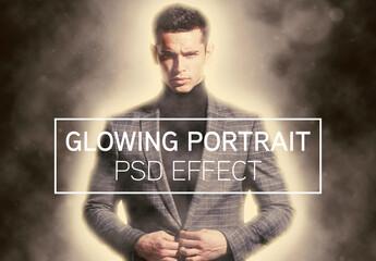 Glowing Portrait Photo Effect