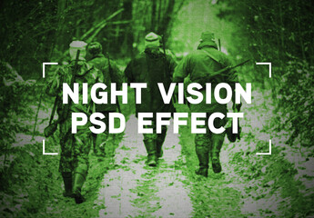 Night Vision Photo Effect