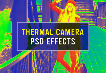 Thermal Camera Photo Effect