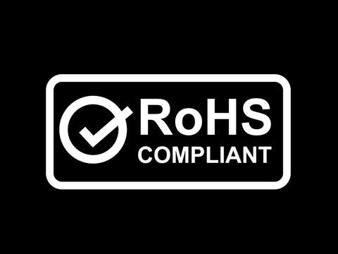 RoHS compliant symbol. vector
