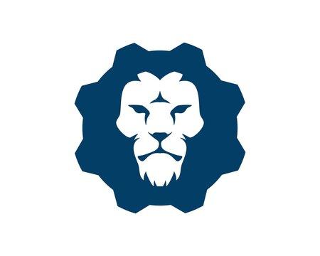 Repair gear with lion head inside