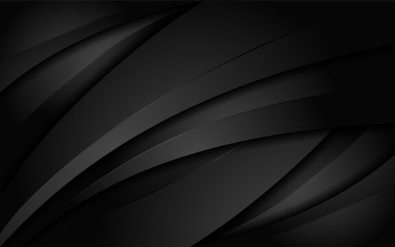 Abstract dynamic black with tribal style background design. Graphic design template