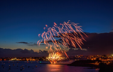 Fotomurales - Plymout Fireworks Championship .