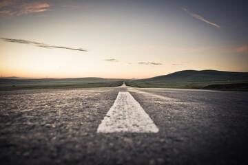 Fotomurales - Empty Road