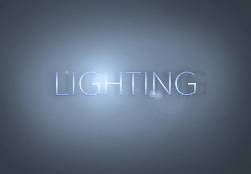 Spotlight Text Effect