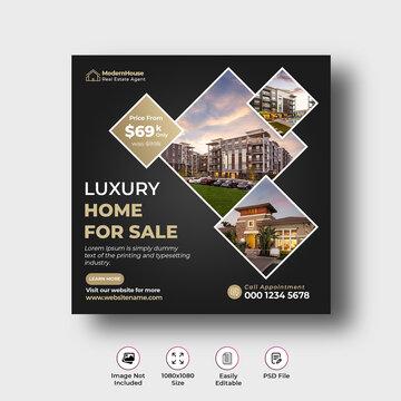 Real Estate Instagram Post Banner