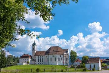 Bavaria, the art and the Baroque churcches
