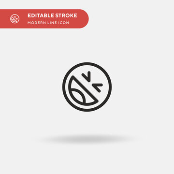 Laugh Simple vector icon. Illustration symbol design template for web mobile UI element. Perfect color modern pictogram on editable stroke. Laugh icons for your business project