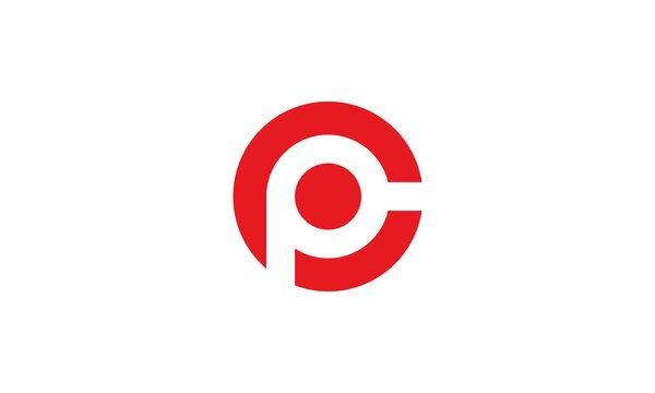 PC Logo Design PC Initials PC Monogram Symbol