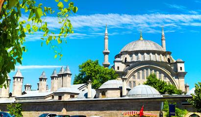 Suleymaniye Mosque in Istanbul Wall mural