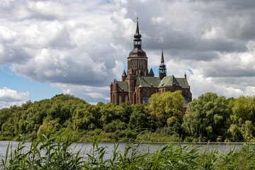 Blick zur Marienkirche