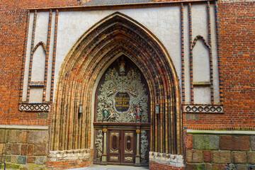Kirchentür,