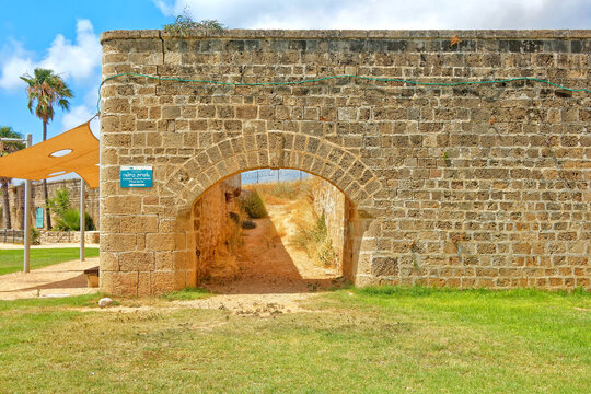 Acre. Ancient city. Israel.