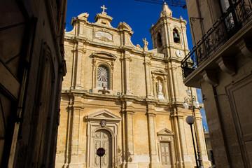 Parish Church of St. Catherine at Iz-Zejtun at Malta